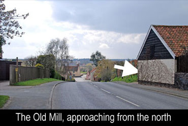 The Old Mill, approaching from the north