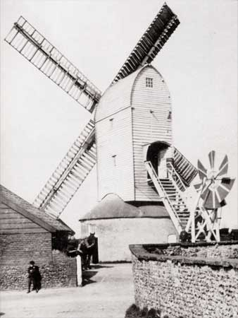The mill before conversion